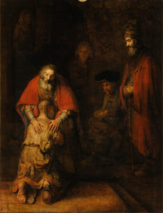 The Return of the Prodigal Son by Rembrandt