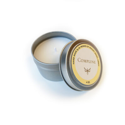 Sunday Vespers Candle Tin