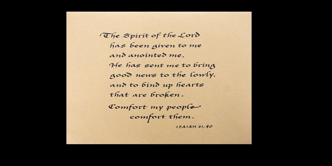 Isaiah 61, 40