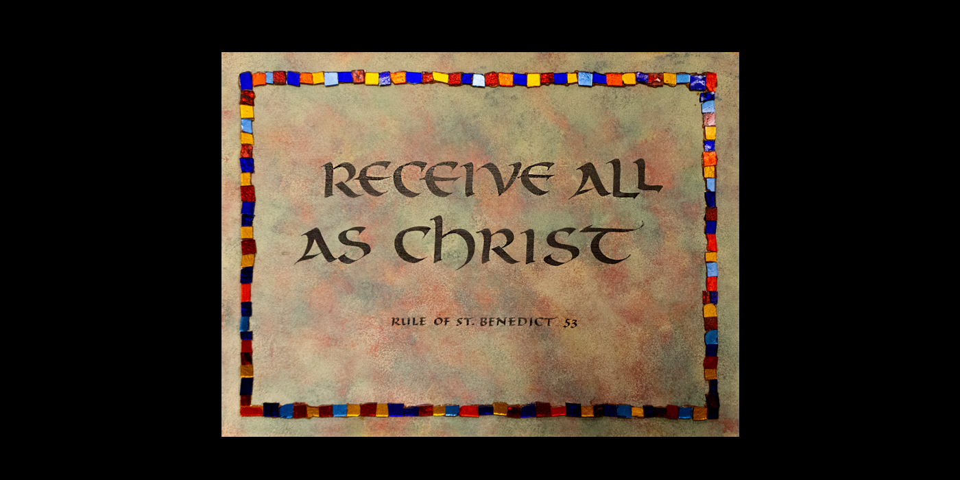 Receive all as Christ