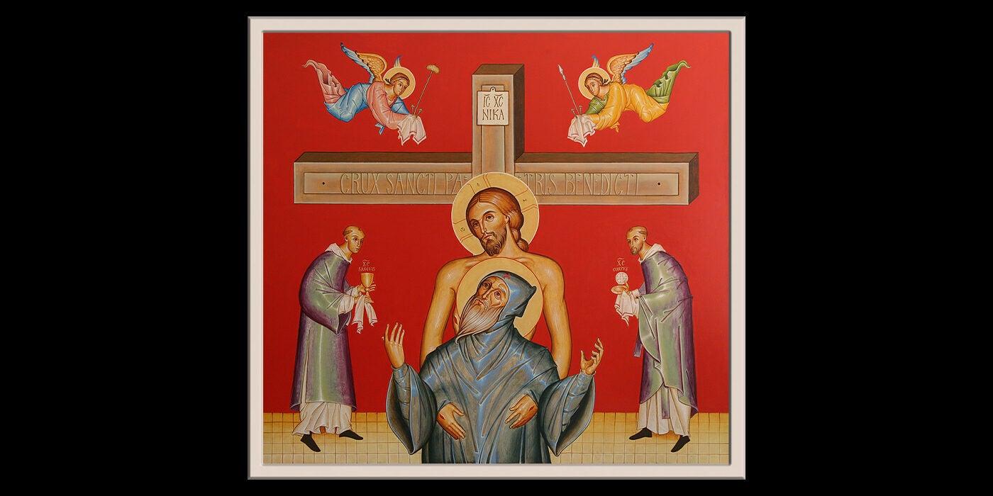 Death of St. Benedict