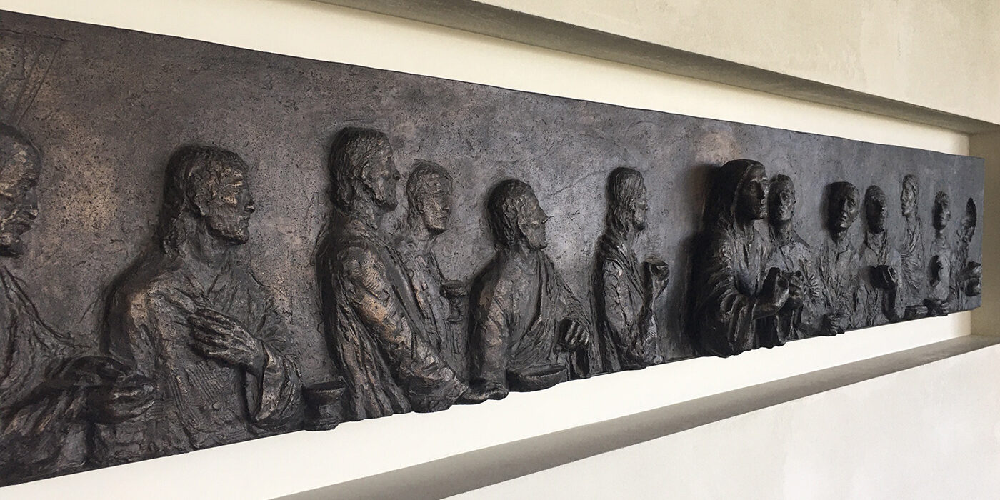 Last Supper viewed from left side