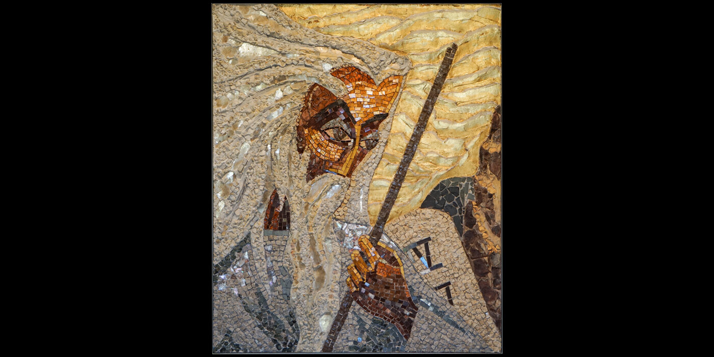 Gallery-Mosaic - Moses Descending Mount Horeb