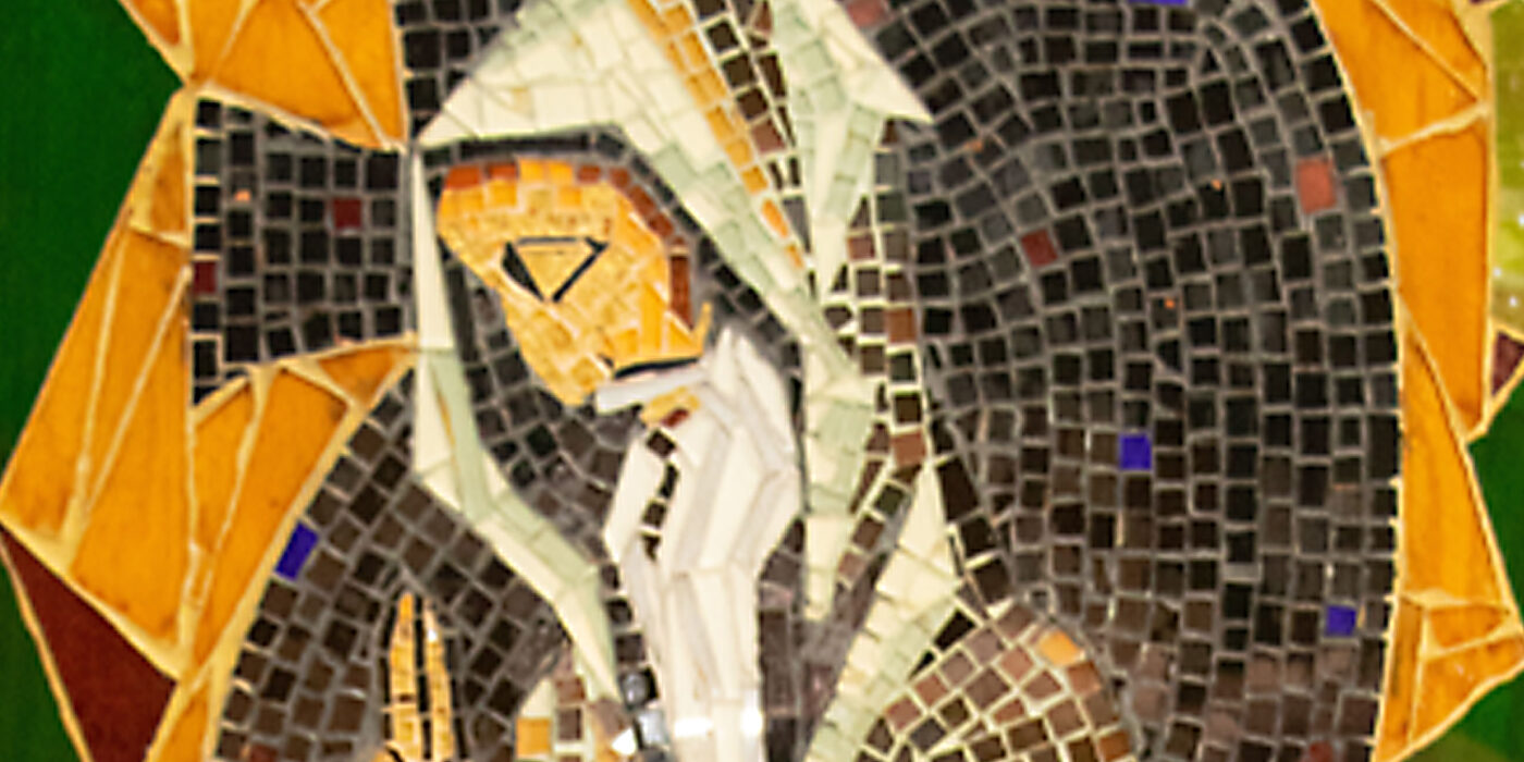 Gallery-Mosaic - St. Benedict Detail