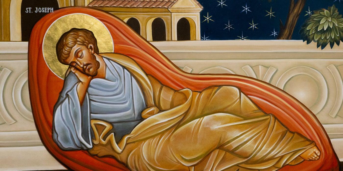 Annunciation to Saint Joseph Detail 1