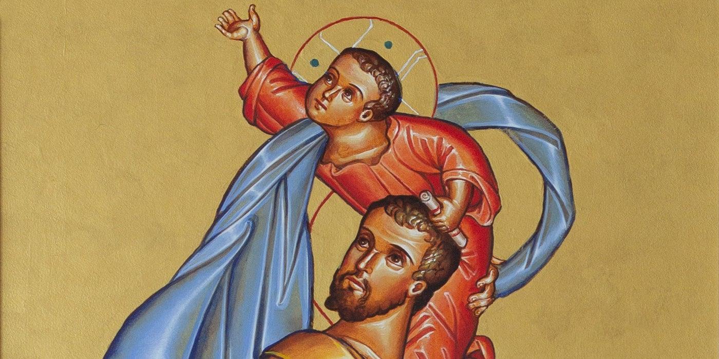 Saint Joseph, Guardian of the Church Detail 1