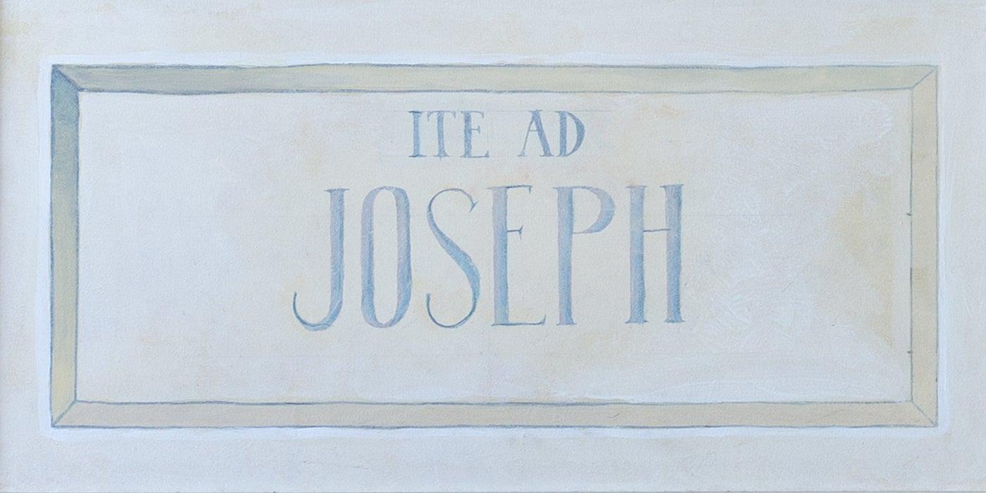 Saint Joseph, Guardian of the Church Detail 2