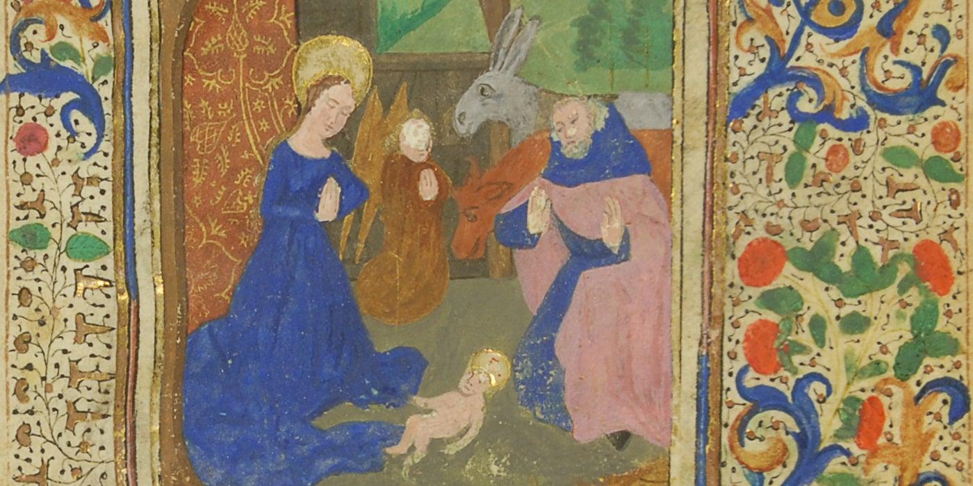 Horae Beatae Mariae Virginis Detail 1