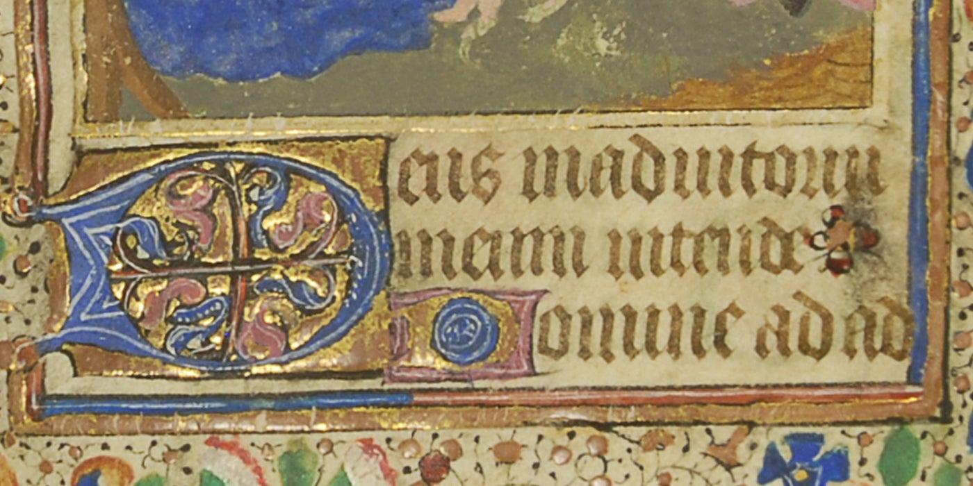 Horae Beatae Mariae Virginis Detail 2