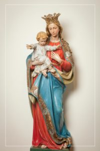 Pray for us, loving mother.