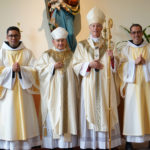 New deacons at Mount Angel Abbey.