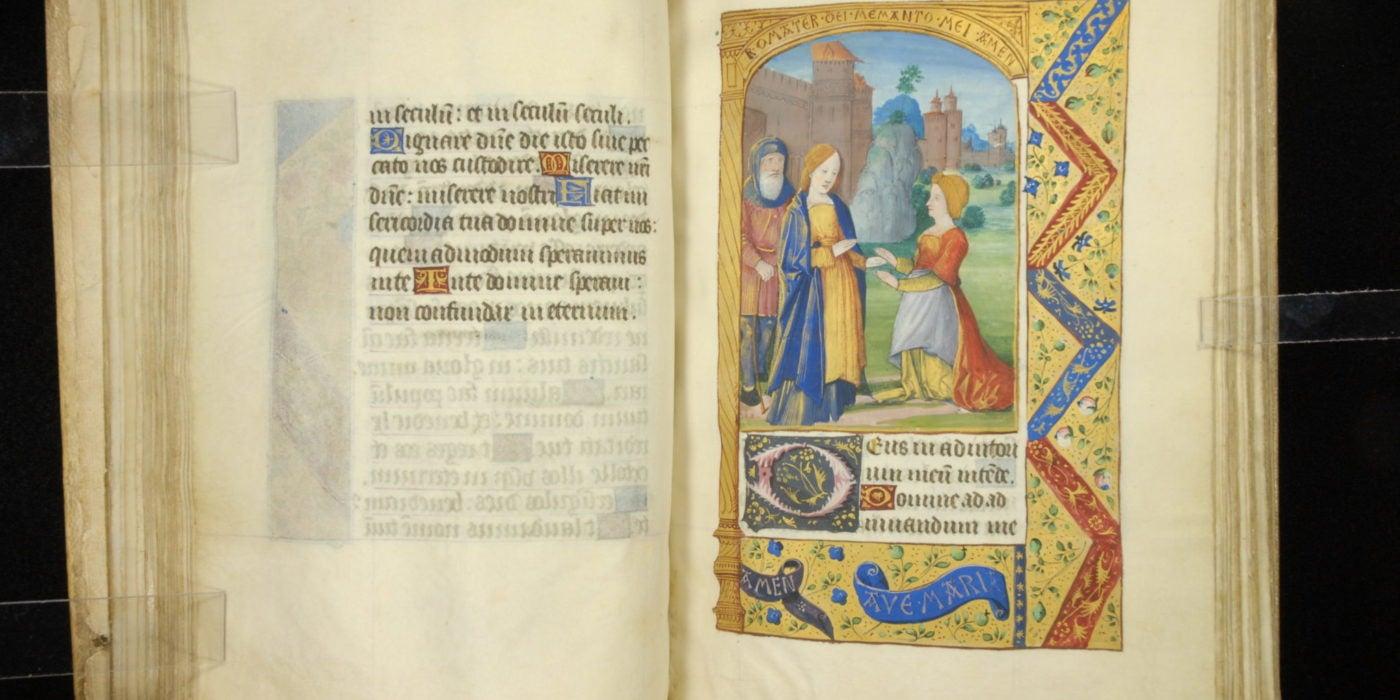 Manuscript 0029 Horae 042 Visitation Magnificat
