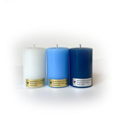 "Marian Candle Set - 3"""