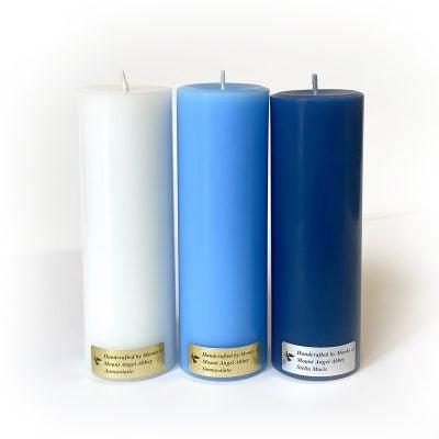 "Marian Candle Set - 3"" 1"