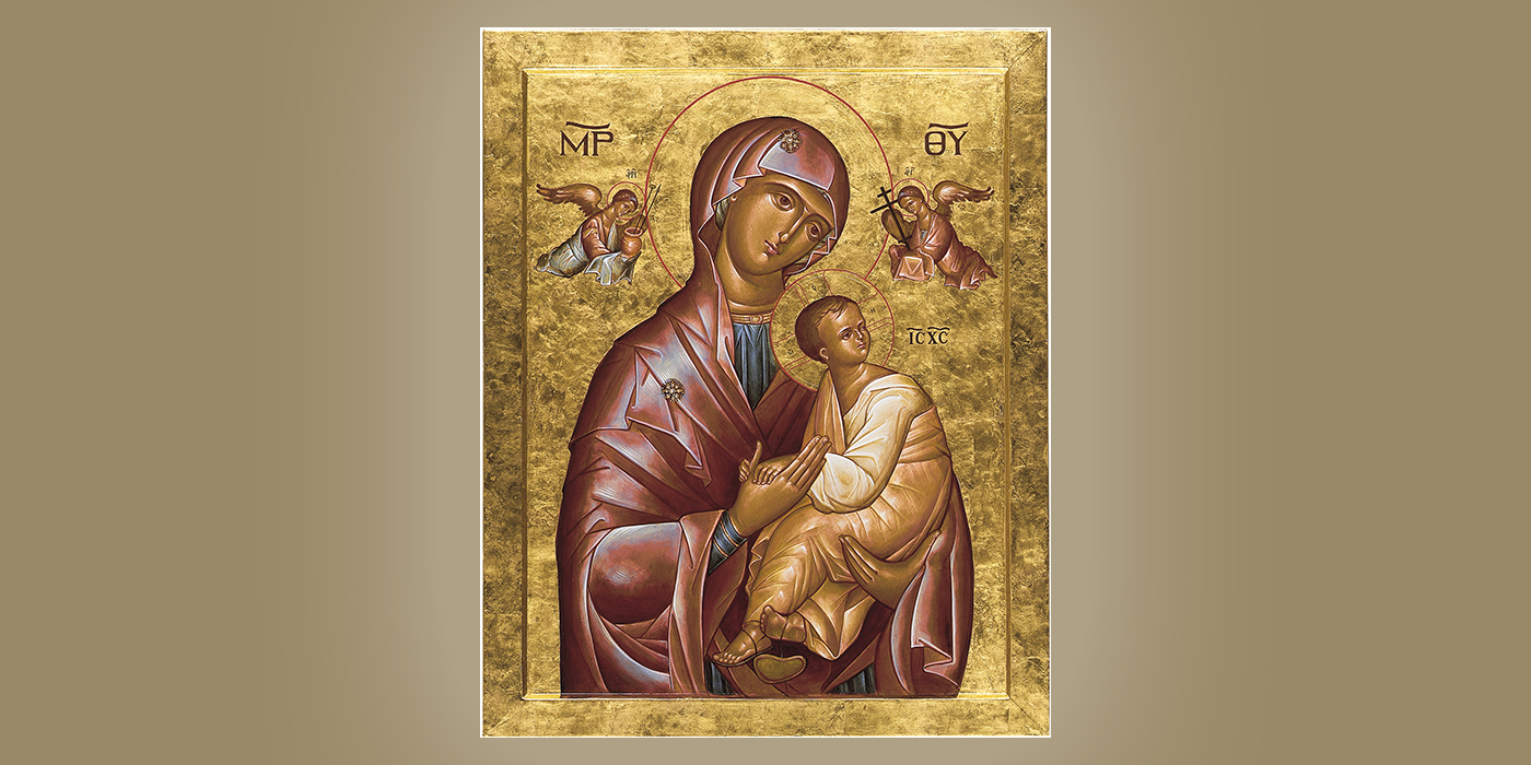Our Mother of Perpetual Help, by Br. Claude Lane, OSB