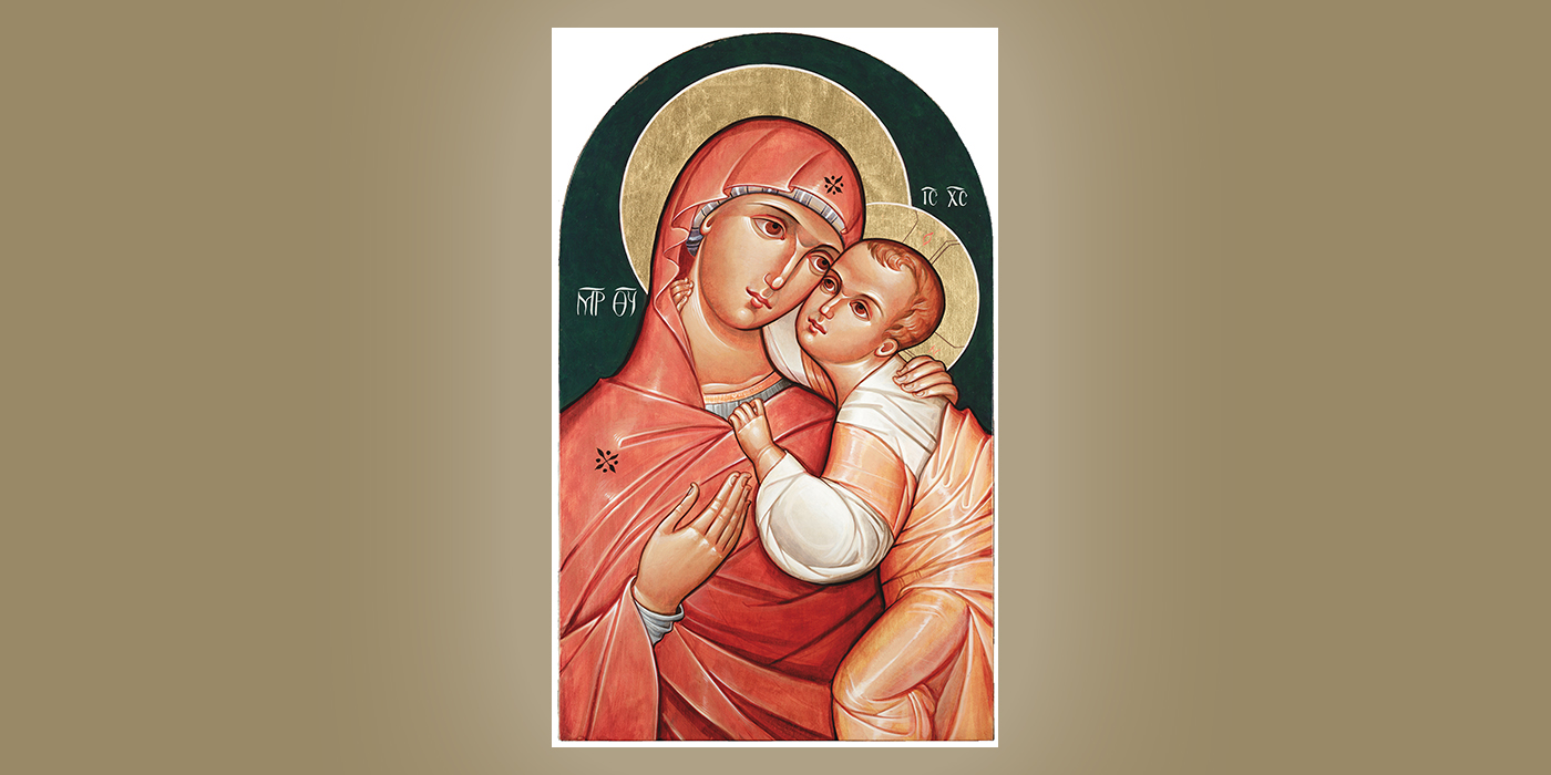 Our Lady of Good Counsel, by Br. Claude Lane, OSB