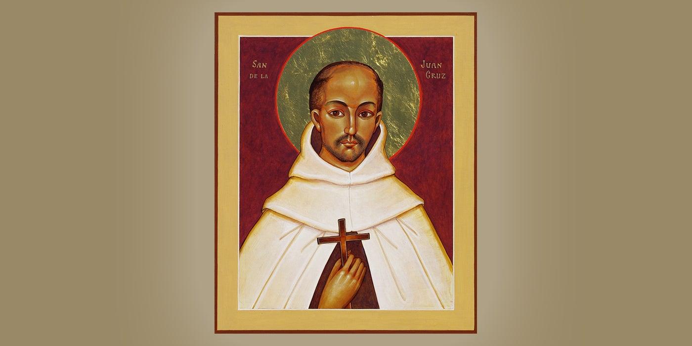 St. Juan de la Cruz, by Br. Claude Lane, OSB
