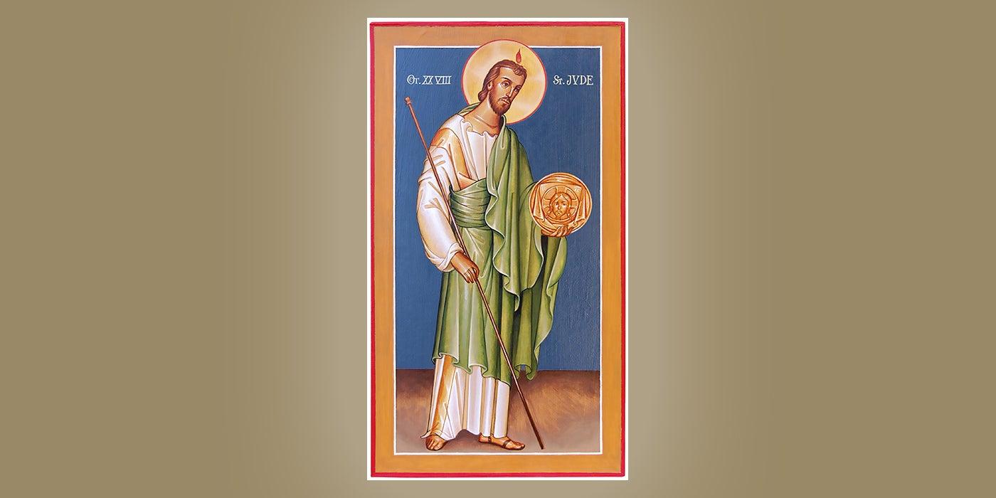 St. Jude, Br. Claude Lane, OSB