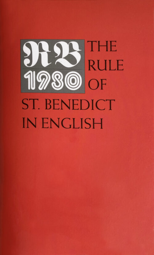 The Rule of St. Benedict (Soft Cover)