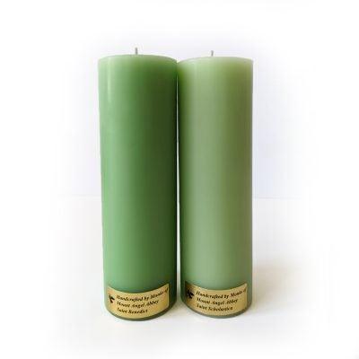 Benedictine Twins Candle Set