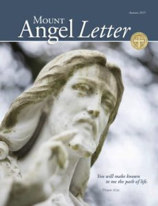 Mount Angel Letter autumn 2015 cover