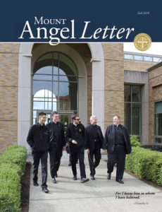 Mount Angel Letter cover Fall 2018