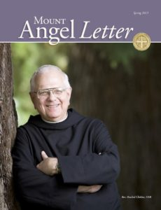 Mount Angel Letter Spring 2013 cover