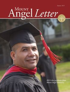 Mount Angel Letter summer 2013 cover