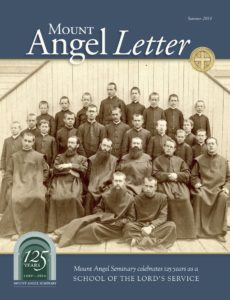Mount Angel Letter summer 2014 cover