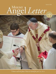 Mount Angel Letter summer 2016 cover