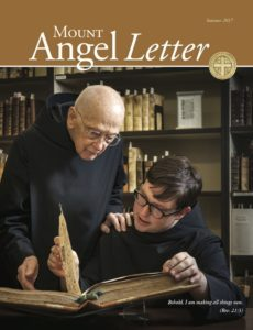 Mount Angel Letter summer 2017 cover