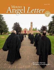 Mount Angel Letter summer 2018 cover