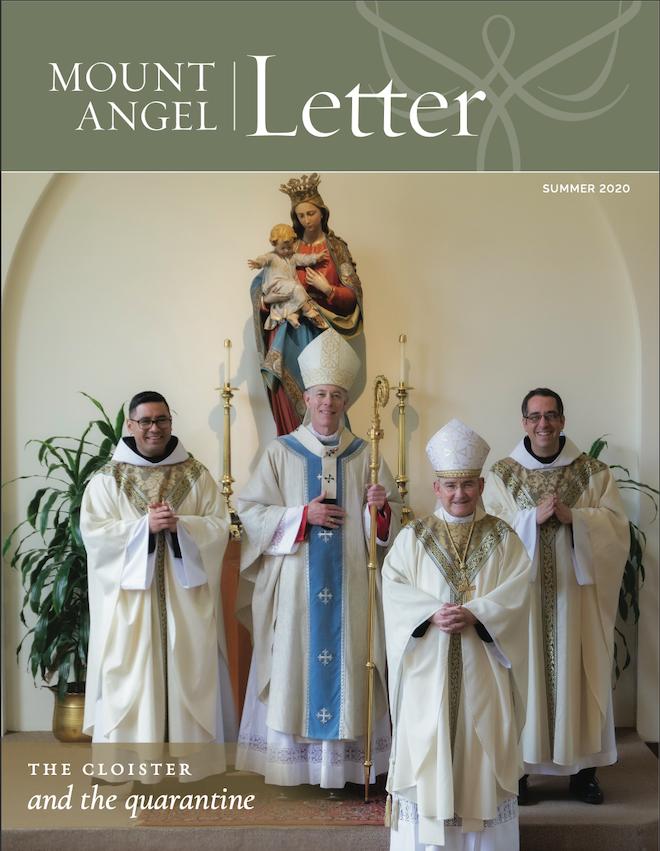Mount Angel Letter Summer 2020 cover