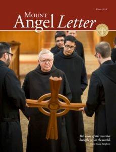 Mount Angel Letter winter 2018 cover
