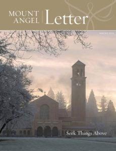 Mount Angel Letter winter 2019 cover