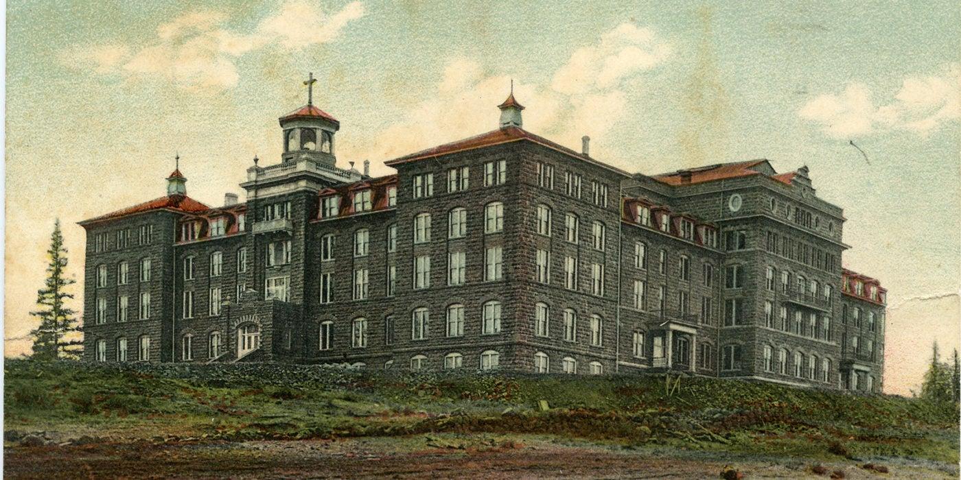Second monastery complex, 1903 - 1926